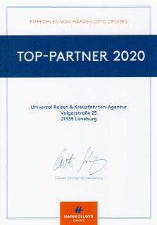 Hapag Lloyd Kreuzfahrten Top Partner